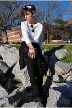 Primark jacket - H&M pants - Claires accessories