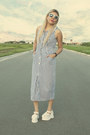 Sky-blue-100-cotton-enterprise-dress-white-sunglasses