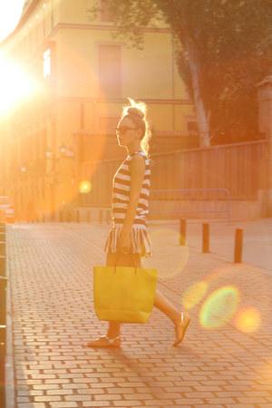 Sheinside dress - Zara bag - dior sunglasses - Adamarina accessories