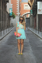 & other stories bag - Ebay dress - Prada sunglasses - Bimba & Lola flats