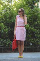 Blancaspina dress - Zara bag - Prada sunglasses