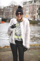 Melissa boots - H&M coat