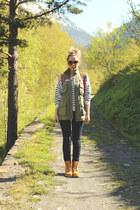 Panama Jack boots - Zara jeans - Primark sweater - romwe vest
