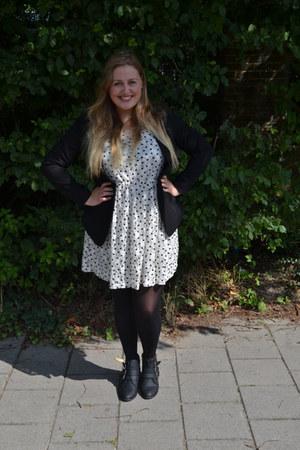 H&M shoes - new look dress - H&M blazer