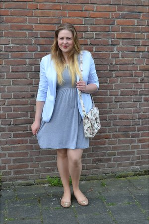 Boohoo dress - Zara blazer - SIX bag