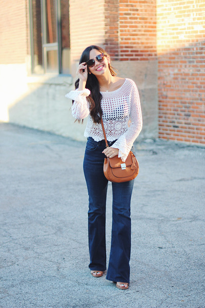 Justfab-shoes-flared-h-m-jeans-crossbody-aldo-bag-forever-21-sunglasses