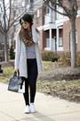 Skinny-charlotte-russe-jeans-leopard-print-h-m-scarf-aldo-sunglasses