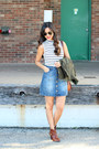 Justfab-shoes-utility-h-m-jacket-forever-21-bag-rayban-sunglasses