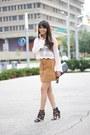 63d4ba401a72d7 Crochet H&M Tops, JustFab Shoes, Suede H&M Skirts |