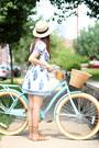 Forever-21-hat-embroidered-sheinside-dress-forever-21-sandals