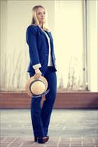 blue Forever 21 jeans - blue H&M blazer
