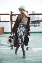 silver Larmoni skirt