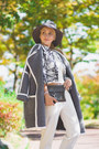 White-sheinside-blazer-heather-gray-rebecca-minkoff-bag-white-choies-pants