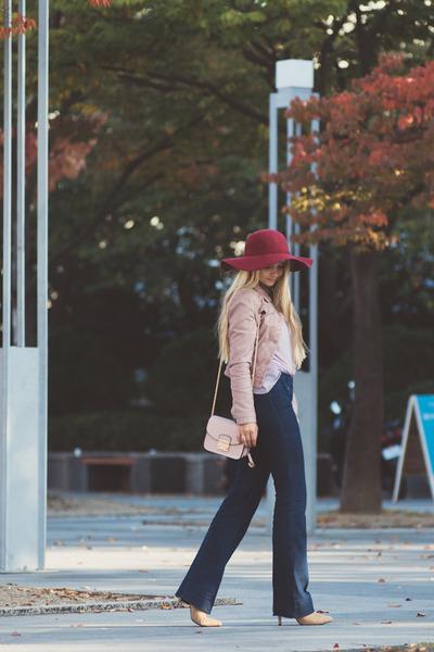 light pink Choies jacket