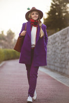 deep purple blackfive coat