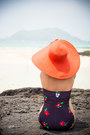 Red-reserved-hat-red-persunmall-necklace-black-motel-rocks-swimwear