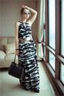 H-m-dress-chicwish-bag-zerouv-sunglasses-hermes-bracelet-oasap-belt