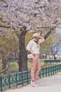 White-oasap-sweater-ivory-mart-of-china-bag-white-zerouv-sunglasses