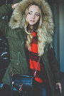Black-oasap-boots-olive-green-oasap-jacket-brick-red-sheinside-sweater