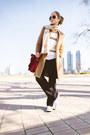 Camel-oasap-coat-white-kooding-sweater-black-zerouv-sunglasses