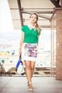 Blue-woakao-bag-aquamarine-udobuy-sandals-green-sheinsidecom-blouse