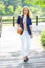 White-maro-catte-jeans-blue-h-m-blazer-carrot-orange-miss-nabi-bag