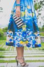 White-zara-bag-blue-chicwish-skirt-white-goodnight-macaroon-blouse