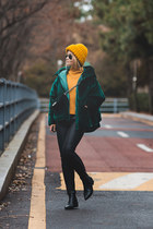 green Styled Moscow jacket