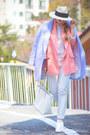 Light-pink-oasap-blazer