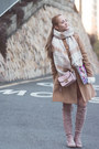 Bubble-gum-romwe-boots-burnt-orange-shein-dress