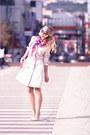 Hot-pink-forever-21-scarf-hot-pink-miss-nabi-bag