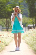 aquamarine WalG dress