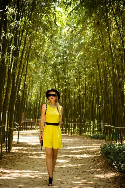 black kate spade watch - black Rebecca Minkoff bag - black zeroUV sunglasses