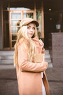 Bronze-sheinside-coat-camel-similar-brixton-hat-white-choies-pants