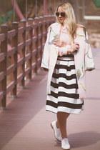 black romwe skirt