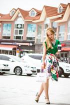 green romwe skirt