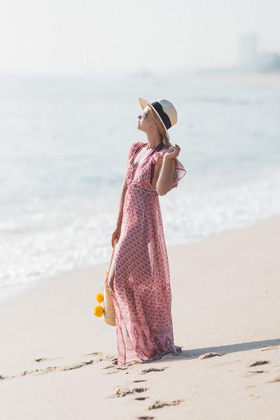bubble gum zaful dress
