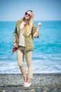 Olive-green-topshop-jacket-ivory-chicwish-sweater-tawny-rebecca-minkoff-bag