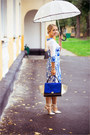 Blue-goodnight-macaroon-dress-silver-dkny-watch-silver-tiffany-co-necklace