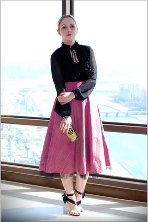 pink LeVall skirt