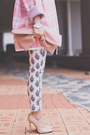 Bubble-gum-8-seconds-cardigan-peach-persunmall-pumps-white-sheinside-pants
