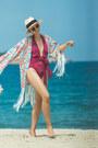 Hot-pink-asos-swimwear