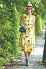 Yellow-romwe-dress