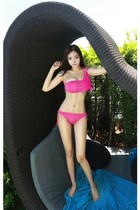 hot pink yubsshop swimwear