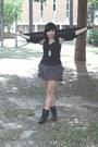 Black-slouchy-vintage-boots-black-long-norma-kamali-cardigan-black-ruffle-xh