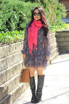 hot pink scarf scarf