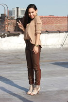 H&M pants - Steve Madden heels