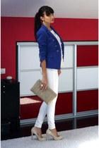Zara blazer - BSB pants - Zara heels