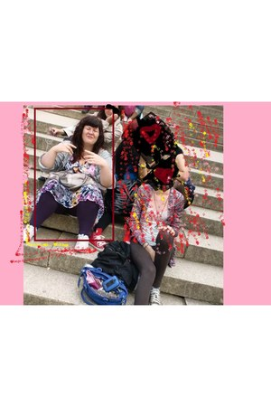 bubble gum floral dress dress - light pink DooDogs shoes