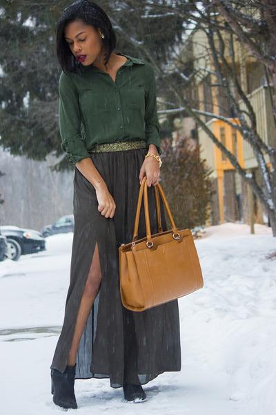 i jeans by Buffalo Embellished-Waist Max skirt